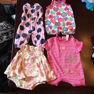 *!!LOT!!* baby girl outfits